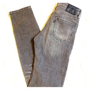LEVI'S Needle Narrow Made & Crafted gray jeans